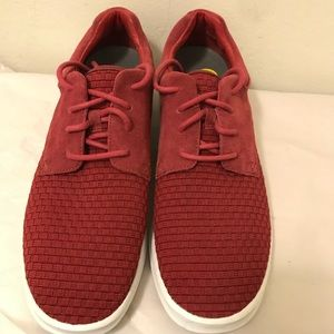 UGG men's basket weave sneakers